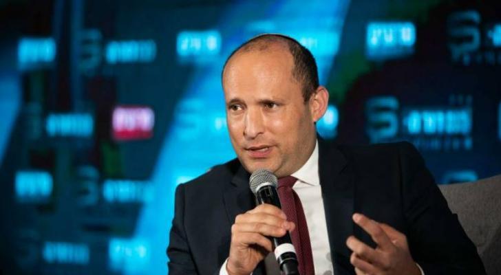 وزير جيش الاحتلال نفتالي بينيت