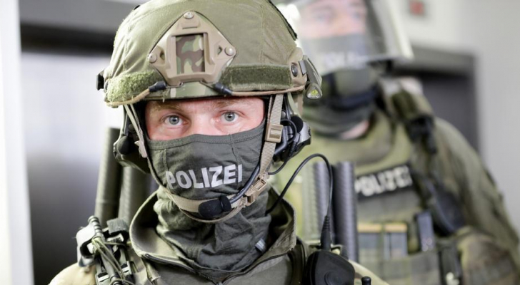 عنصر من مكافحة الإرهاب في ألمانيا
