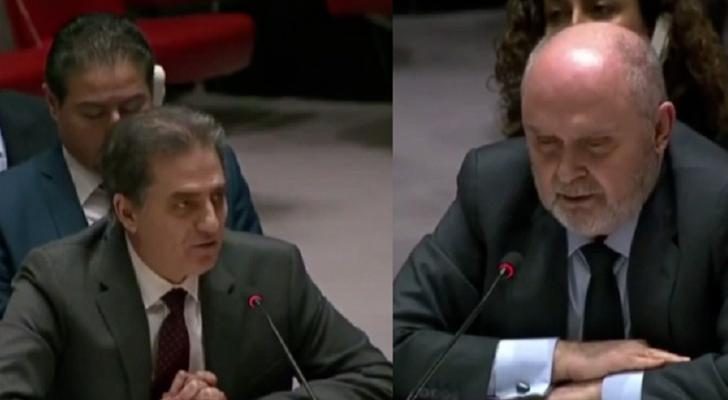 مندوبي سوريا وتركيا في مجلس الأمن