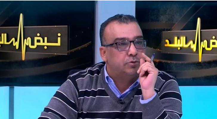 الكاتب الصحفي جهاد ابو بيدر