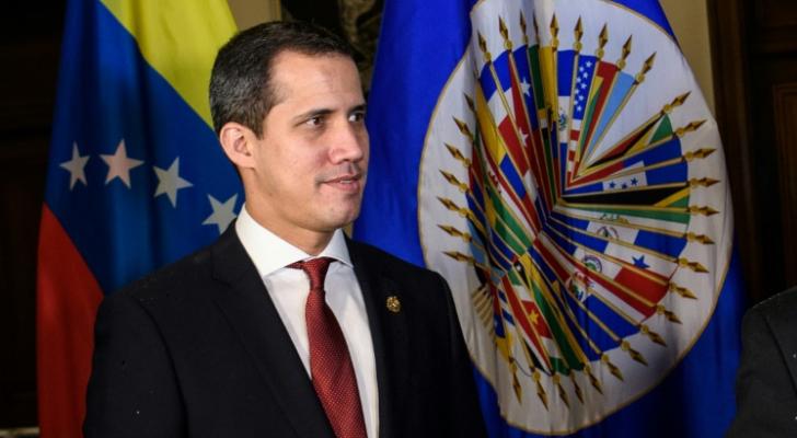 زعيم المعارضة الفنزويلية خوان غوايدو في واشنطن الخميس 6 شباط 2020