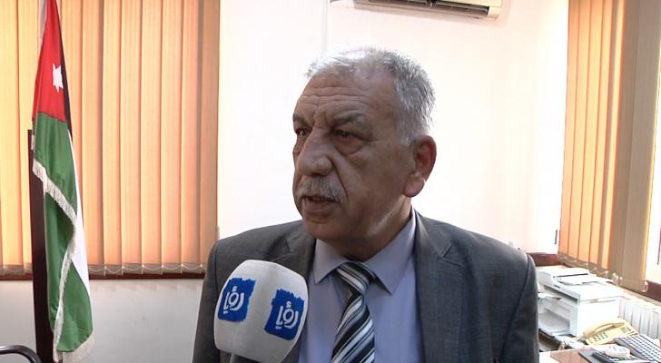 رئيس بلدية السرو فيصل مقدادي