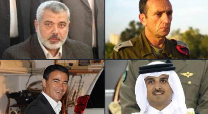 رئيس الموساد وقائد بجيش الاحتلال زارا قطر سرًا