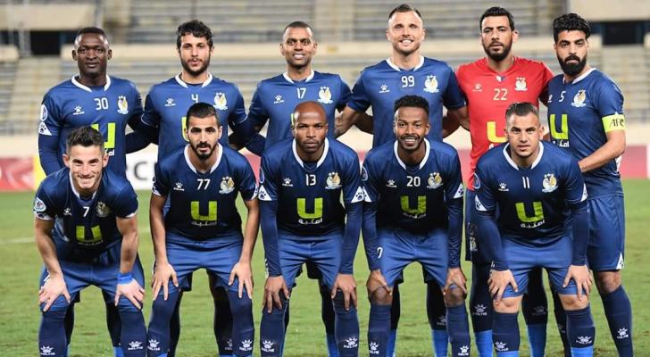 لاعبو النادي الفيصلي