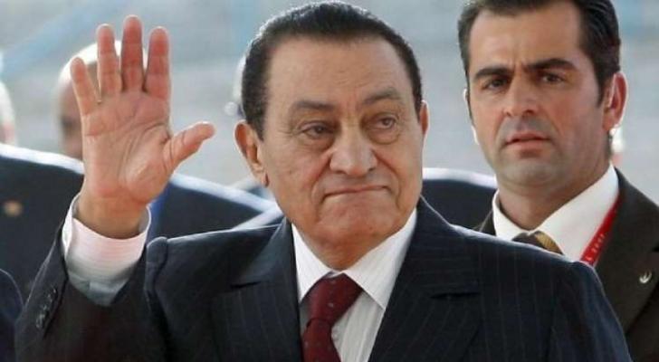 الرئيس المصري الأسبق الراحل حسني مبارك