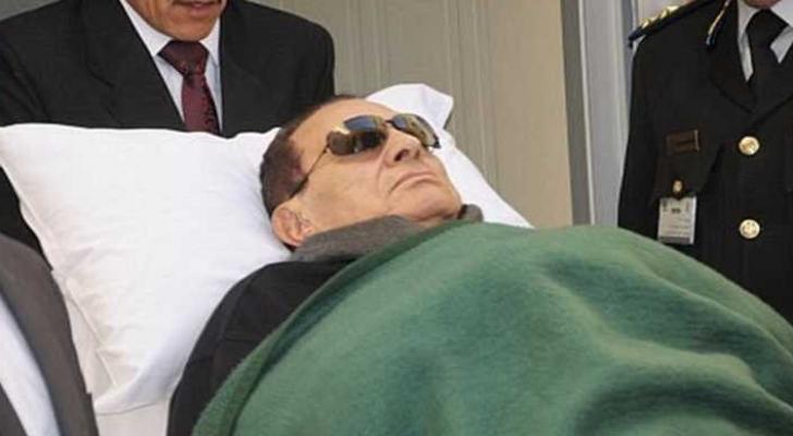 الراحل محمد حسني مبارك الرئيس المصري الأسبق