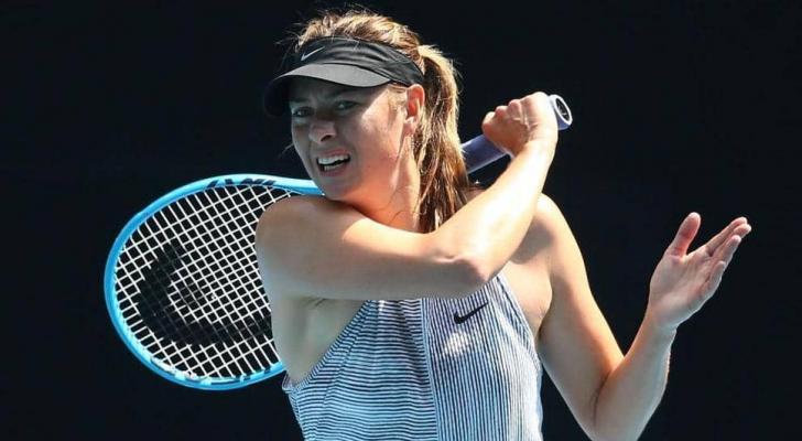 نجمة التنس الروسية ماريا شارابوفا