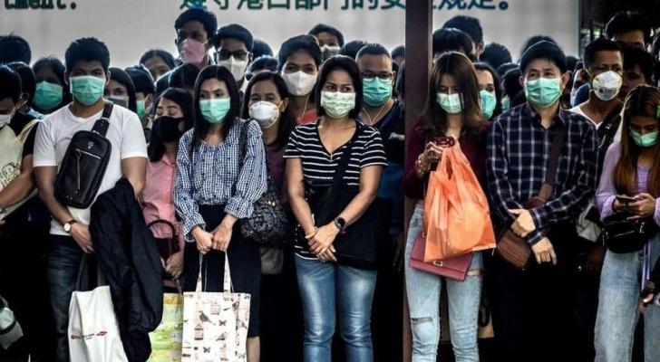 ارتداء الكمامة ينتشر حول العالم خوفا من فيروس كورونا