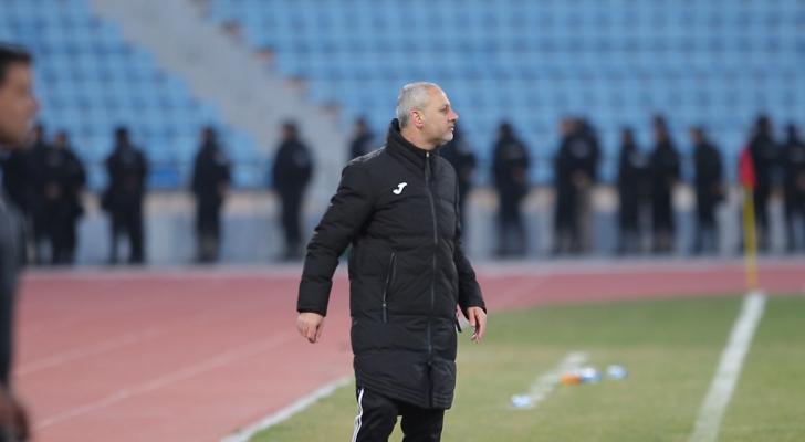 المدير الفني لفريق الجزيرة لكرة القدم أمجد أبو طعيمة