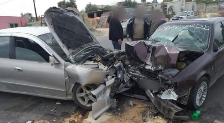 وفاة واصابتان بحادث تصادم في جرش