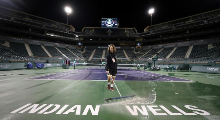 إلغاء دورة انديان ويلز لكرة المضرب بسبب المخاوف من كورونا