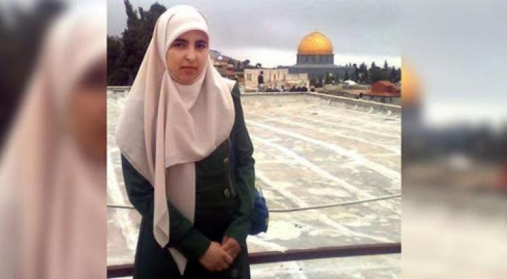 الأسيرة الفلسطينية أنسام شواهنة