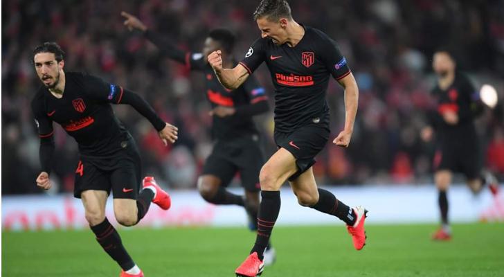 أتلتيكو مدريد يقصي ليفربول من دوري أبطال أوروبا