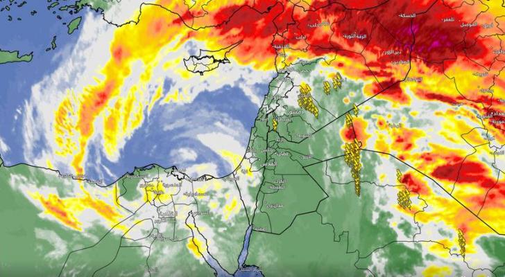 تحولالطقس بشكل تدريجي ليكون مُغبراً في أجزاء مُختلفة من المملكة