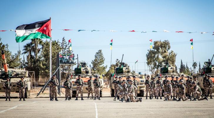 القوات المسلحة الاردنية