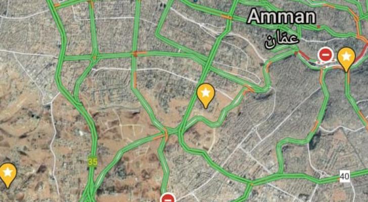 شوارع عمان بلا أزمة