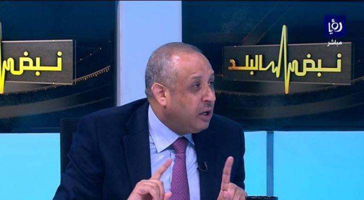 رئيس ديوان التشريع والرأي الأسبق نوفان العجارمة