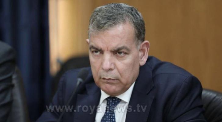 وزير الصحة الدكور سعد جابر
