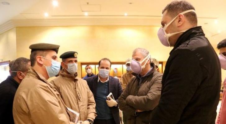 الجيش يتفقد جاهزية الفنادق المخصصة للحجر الصحي