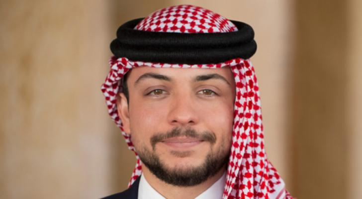 سمو ولي الأمير الحسين بن عبدالله الثاني
