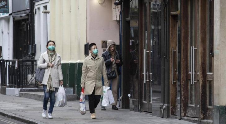 الآلاف في بريطانيا مصابون بفيروس كورونا المستجد