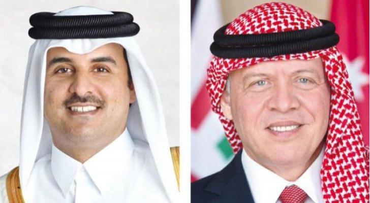 الملك وأمير دولة قطر