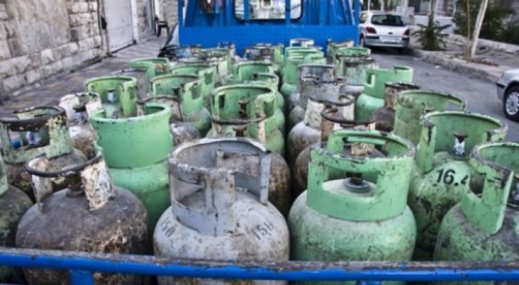 مركبة توزيع الغاز