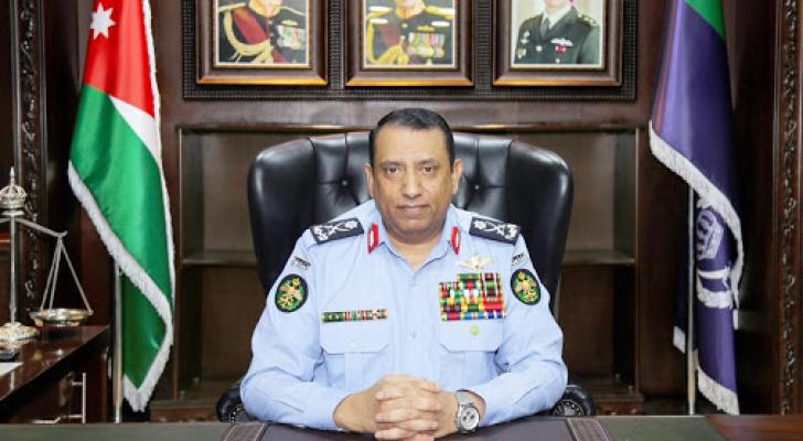 مدير الأمن العام اللواء حسين الحواتمة