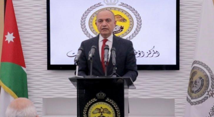 وزير الإعلام أمجد العضايلة