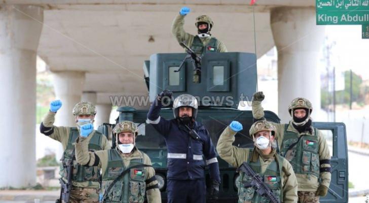 نشامى الجيش العربي والامن العام