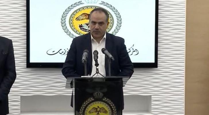 وزير الزراعة المهندس إبراهيم الشحاحدة
