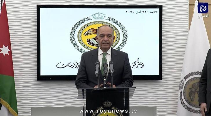 وزير الدّولة لشؤون الإعلام أمجد العضايلة