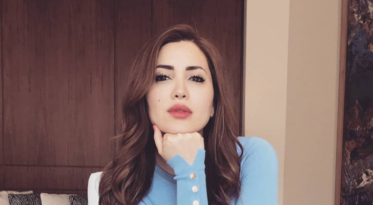 الفنانة نسرين طافش
