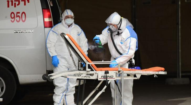 ارتفاع عدد المصابين بفيروس كورونا في إسرائيل الى 3460 مصابا