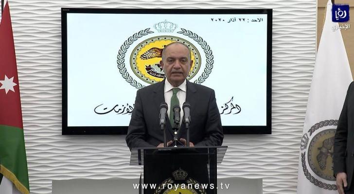 وزير الدولة لشؤون الإعلام أمجد عودة العضايلة