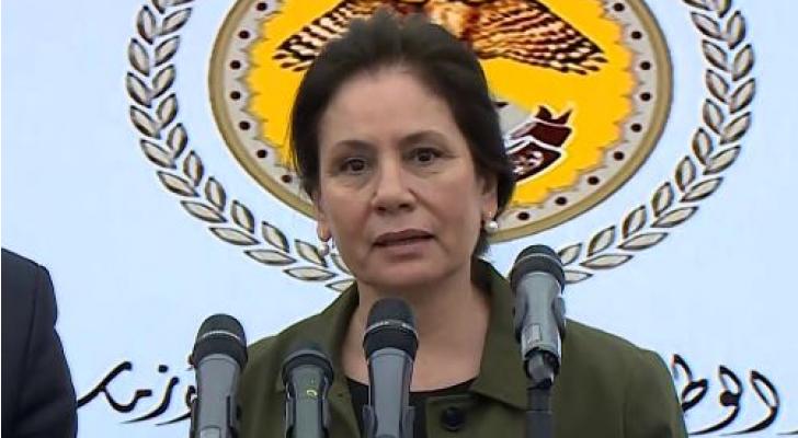وزيرة الطاقة