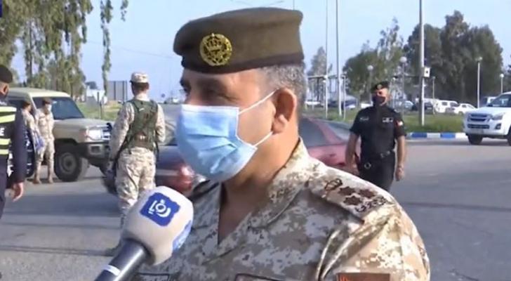 قائد المنطقة العسكرية الشرقية العميد الركن فخر عدنان خليفات