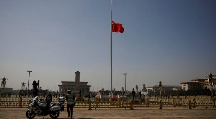 الصين تكرم ضحايا كورونا وتنكس الأعلام