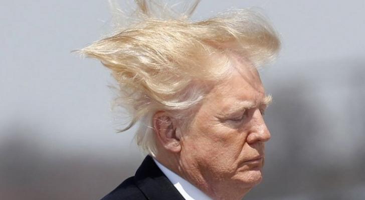 الرئيس الأمريكي دونالد ترمب