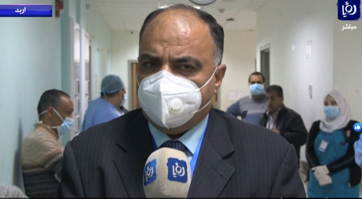 مدير مستشفى الأمير رحمة الدكتور طه المومني