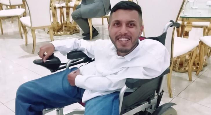 الشاب الأردني عبدالله حماشا