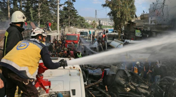 """الدفاع المدني السوري """"الخوذ البيضاء"""""""