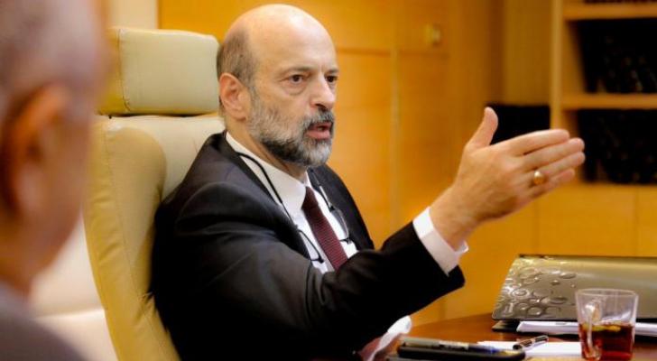 رئيس الوزراء الدكتور عمر الرزّاز