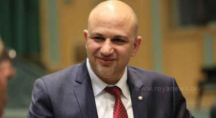 وزير الريادة والاقتصاد الرقمي المهندس مثنى الغرايبة