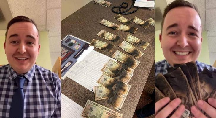 أراد قتل كورونا بالمايكروويف فأحرق أمواله