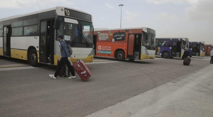 وصول الثلاثاء أول 3 طائرات تقل طلبة أردنيين من الخارج