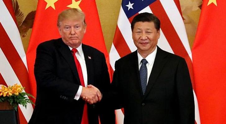 ترمب والرئيس الصيني - ارشيفية