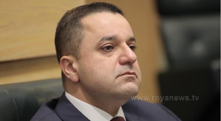 وزير المالية الدكتور محمد العسعس