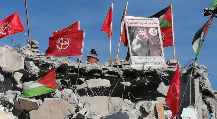 الاحتلال يهدم منزل الفلسطيني قسام البرغوثي