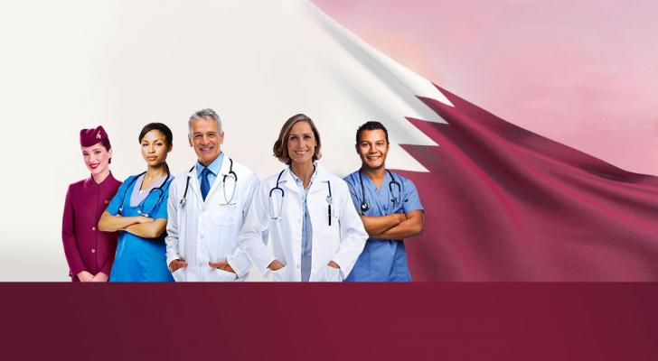 الخطوط الجوية القطرية تقدم 100 ألف تذكرة سفر مجاناً للعاملين في مجال الرعاية الصحية في الصفوف الأمامية